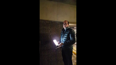LED Light Using Draper Spine Technology Prototype on Smooth and Rough Surfaces