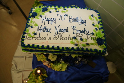 "THE 70th BIRTHDAY CELEBRATION HONORING MOTHER NAOMI E. BROOKS WAS HELD ON SATURDAY JULY 18th, 2015 AT ELIM LUTHERAN CHURCH HALL 3978 WESTBROADWAY ROBBINSDALE,MN.55422. PHOTO BY: ""TARNUE'S PHOTO & VIDEO."" 612.913.2831"