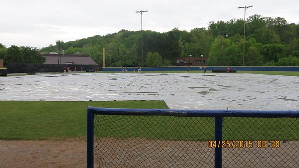 2015 Varsity Baseball vs. Clinton (TN)