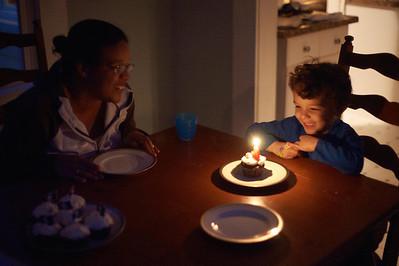 Tristan's fourth birthday