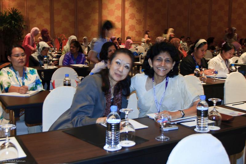 Prof Gracie Ong and Prof Jayaranee