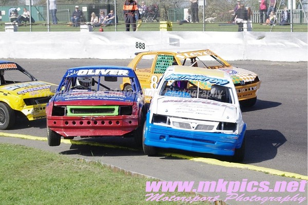 Stock Rods, Northampton International Raceway, 1 April 2012 NIR