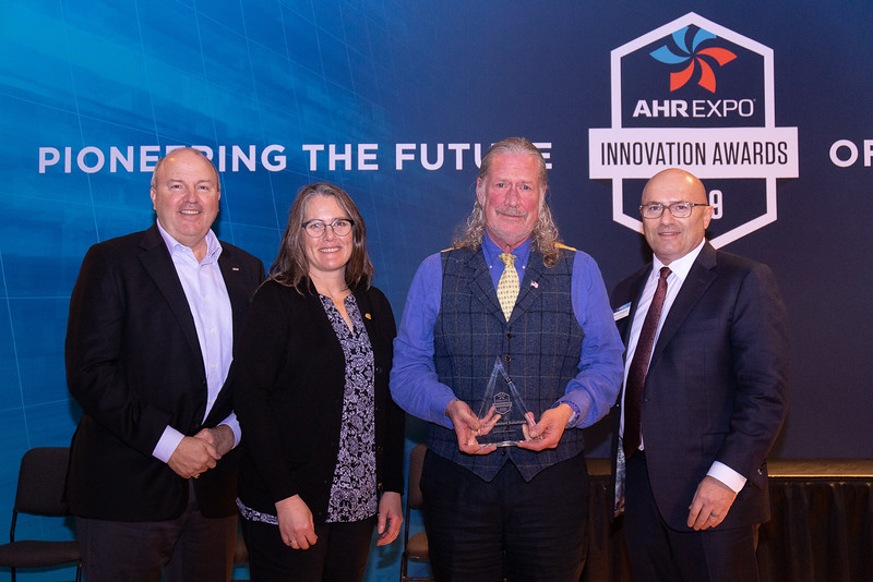 Taco Comfort Solutions receives the AHR Expo Innovation Award for Software