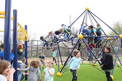 3/29/2018 Salvation Army playground ribbon cutting