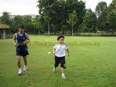 Run Jump Throw @ Choa Chu Kang Park