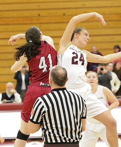 MIT-Springfield Women's Basketball Feb. 23, 2019 (NEWMAC Final)