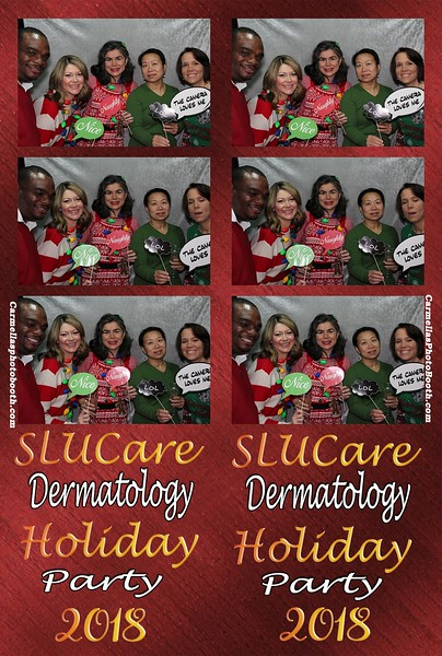 SLUcare Dermatology Holiday Party
