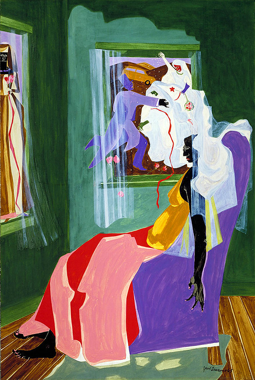 "Jacob Lawrence, ""Dreams No. 2: Memories"" (1965)"