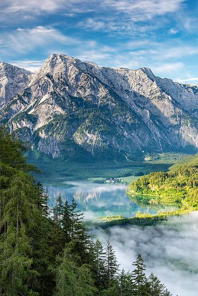 Almse vor dem Toten Gebirge