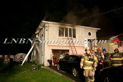 West Babylon F.D. House Fire 28 Newkirt Ave. 7-22-14