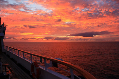 Day at Sea Nov 8 -- Transatlantic