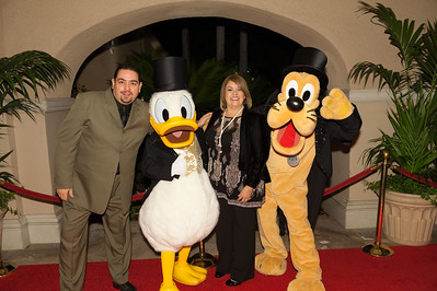 2010 LA Goofy and Donald Duck