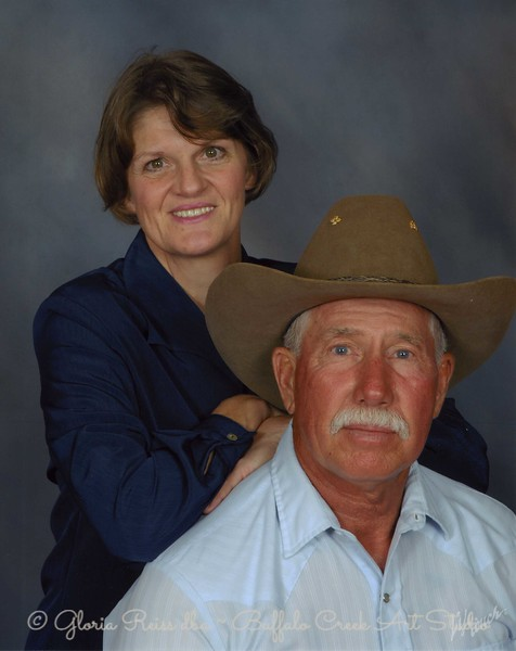 Jerry & Gloria Reiss                 <br /> Bufflao Creek Art Studio<br /> 4099 153 AVE SE<br /> Mapleton, ND 58059