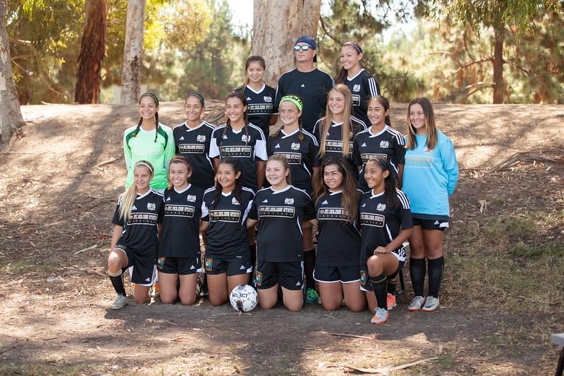 Golden State Girls U-15 2015-2016