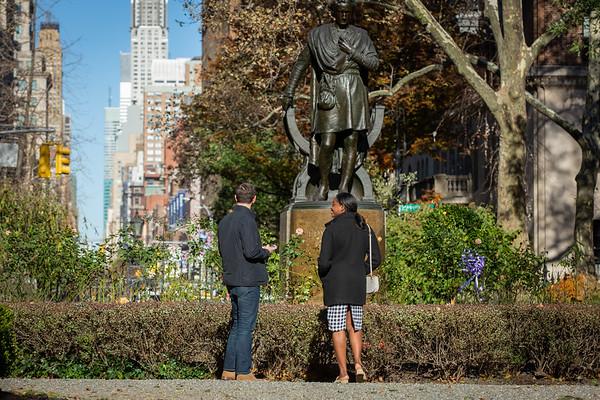 Jamie Gramercy Park Surprise Proposal, New York.
