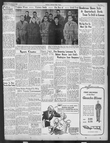 Daily Trojan, Vol. 27, No. 43, November 21, 1935