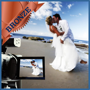 31212 Professional wedding day videography Bronze
