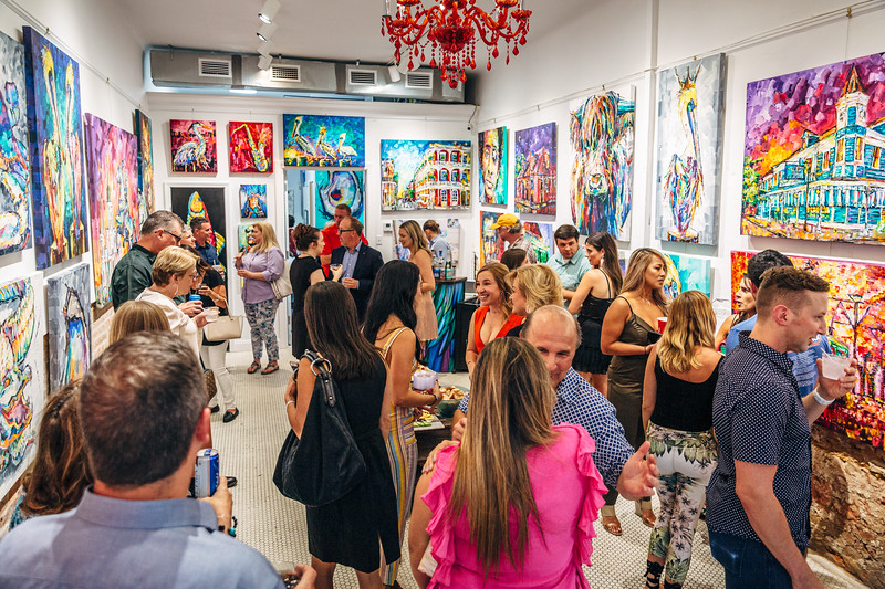 Becky Fos - Gallery B. Fos French Quarter VIP Grand Opening