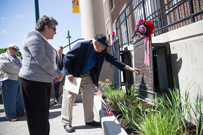 Downtown Campus Memorial Plaques Unveiled