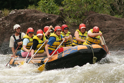 Rafting on the Tully River
