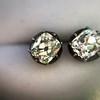 1.73ctw Georgian Peruzzi Cut Diamond Collet Stud Earrings 17