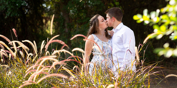 Cheyenne & Trey Engagement Photos at The Springs Weatherford