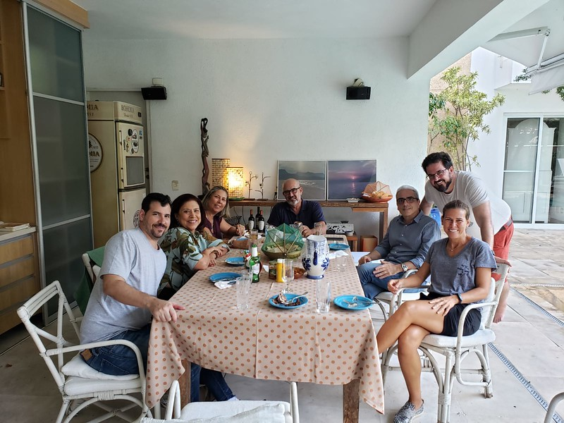 """Cousin Heloisa's home. Sunday """"brazilian bbq"""" with cousins."""