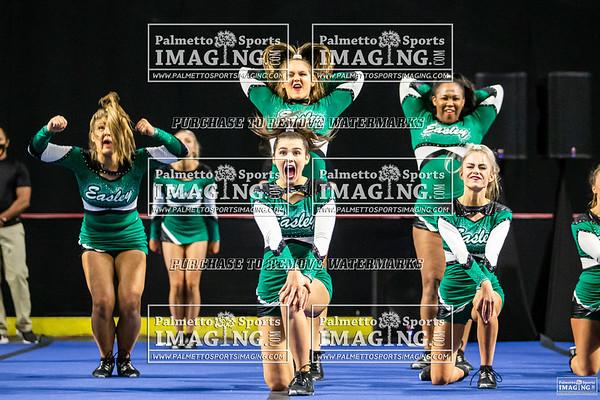 Easley Varsity Cheer 2020 State Championship