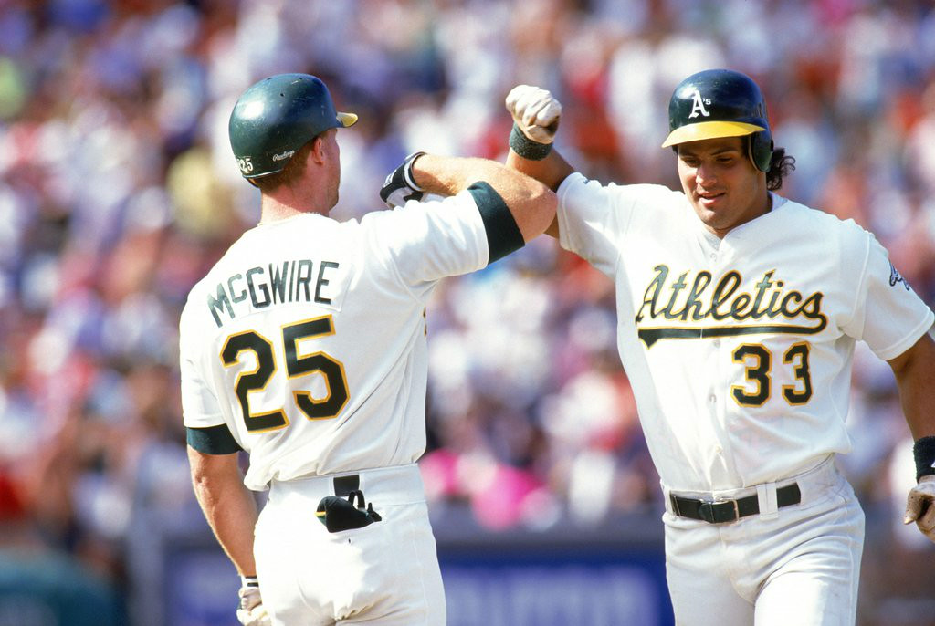 """. 9. MARK McGWIRE & JOSE CANSECO <p>Still a lot of bad blood between the Bash Brothers. Tainted blood. (unranked) </p><p><b><a href=\""""http://espn.go.com/los-angeles/mlb/story/_/id/11255181/mark-mcgwire-says-wants-do-jose-canseco-again\"""" target=\""""_blank\""""> LINK </a></b> </p><p>     (Otto Greule Jr/Getty Images)</p>"""