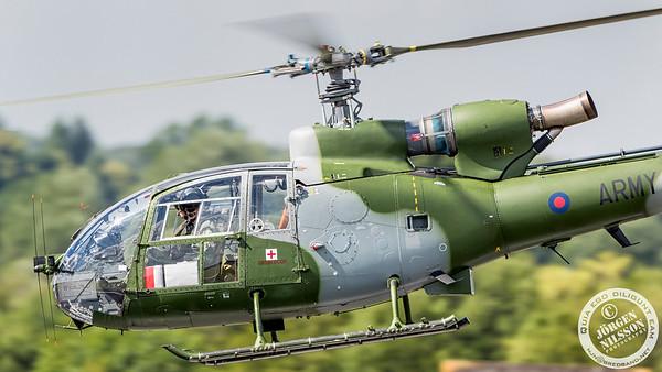 SA-341B Gazelle AH1