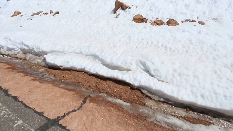 This one is a video of the middle part of Pikes Peak.