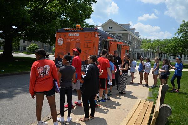 Bonjour Creperie Truck Visits GA's Middle School