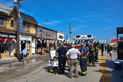 Massapequa F.D. Building Fire 4225 Merrick Road 9-8-16