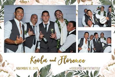 Keola & Florence's Wedding (Mini LED Photo Booth)