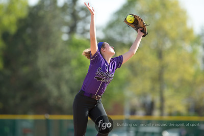 5-13-15 Minneapolis South v Minneapolis Southwest Softball