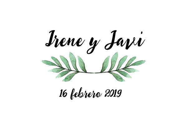 Irene & Javi - 16 febrero 2019