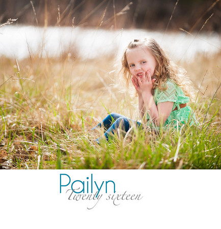 Pailyn Four Year Old Book