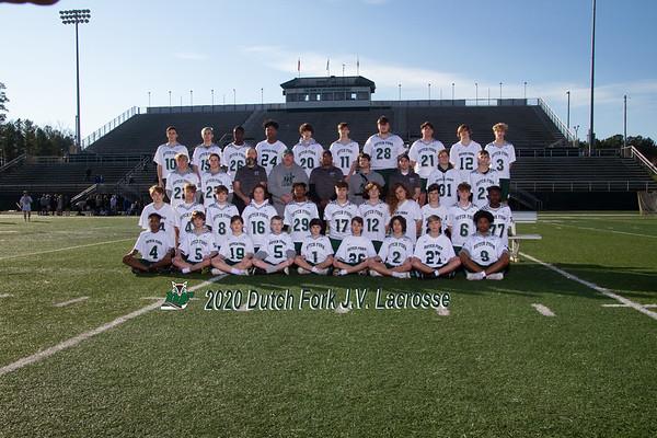 2020 Boys JV Lacrosse