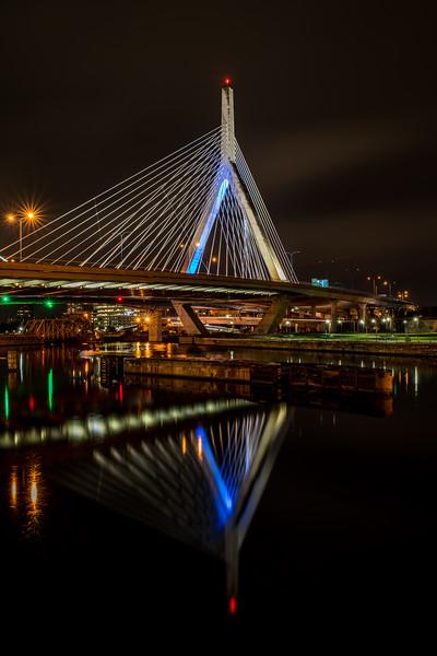 Zakim Bridge reflection