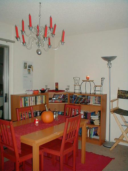 New BookshelvesAnd little chairs