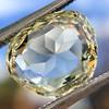 3.46ct Portrait Rose Cut Trapezoid Diamond GIA UV VVS2 1