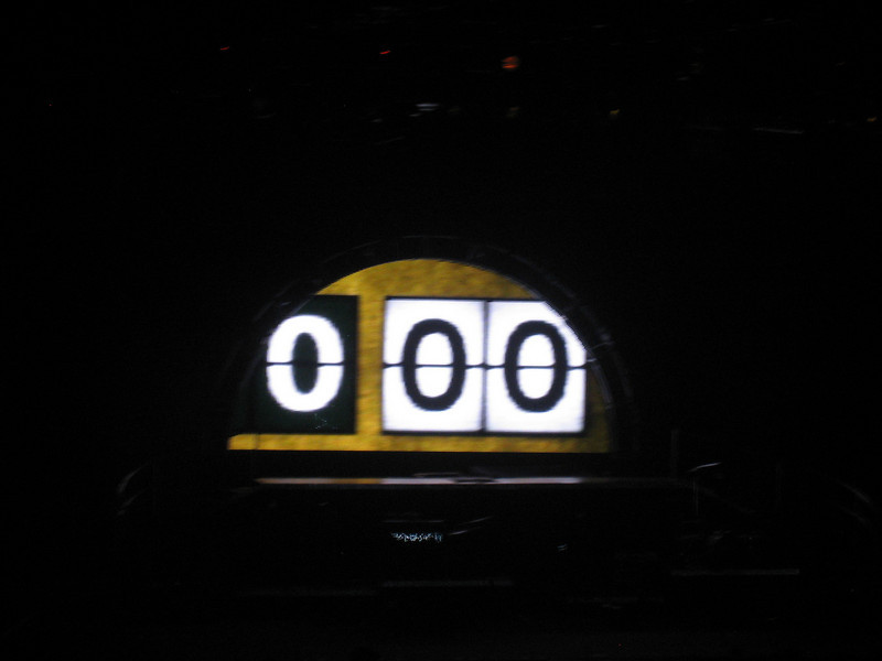 The countdown to Carrie Underwood --- here she comes!