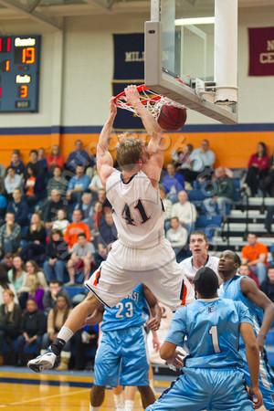 Wheaton College Men's Basketball vs Elmhurst (76-65), February 4, 2012