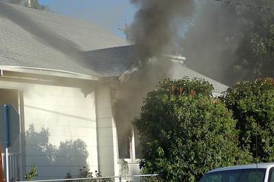 Tibbets House Fire