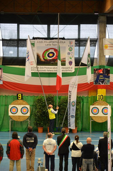 Campionati Italiani Para Archery - i titoli di classe
