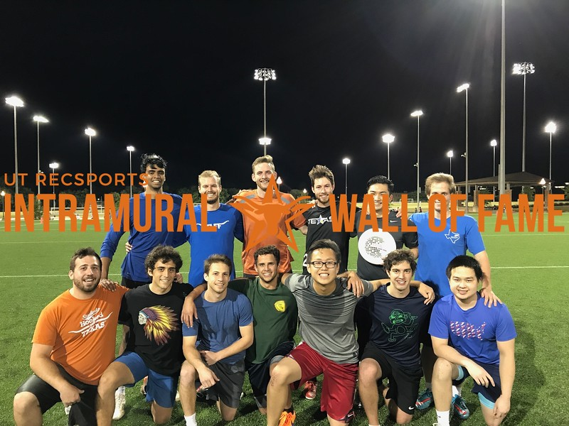 Spring 2017 Ultimate Frisbee Men's Runner Up_A Disc a Day Keeps the Doctor Away