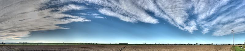 Clouds - Cadelbosco di Sopra, Reggio Emilia, Italy - October 22, 2014