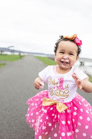 Alaia's 1st Birthday Smash