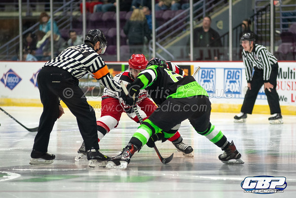 Elmira Enforcers vs. Port Huron Prowlers 11/23/18