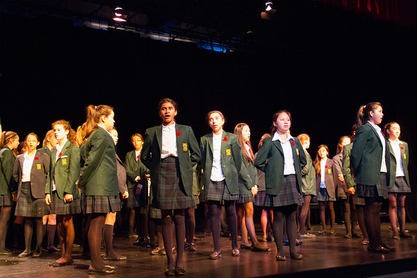 Sr. Choir performs
